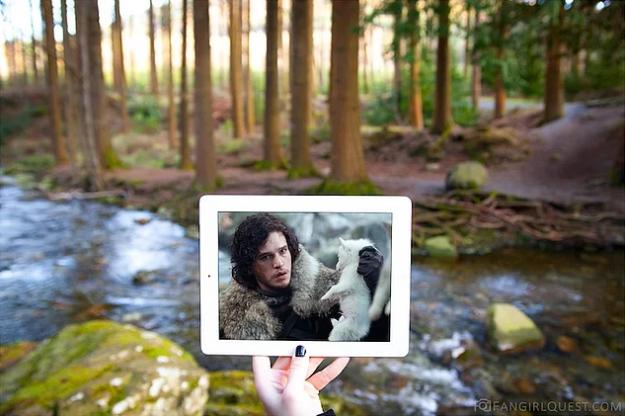 Заснял подругу в лесу